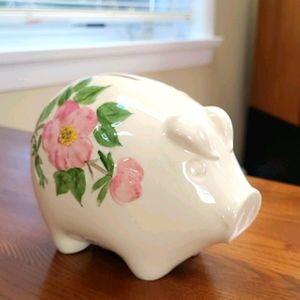 Franciscan  desert  rose piggy  bank